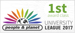 First award class from University League 2017 by people and planet